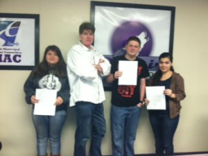 Destiny Lebow Ramirez, Jerry DeCaire, Ricky Robertson, and Lizbeth Cadenas